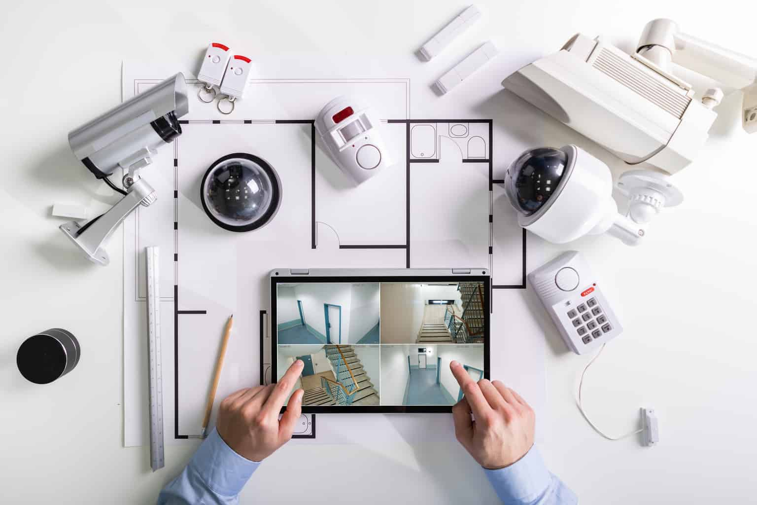 Smart Security Cameras, C3 Tech