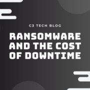 Ransomware and the Cost of Downtime Blog