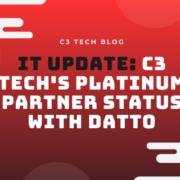 IT Update: C3 Tech Achieves Platinum Partner Status with Datto