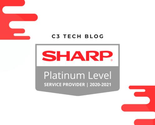 C3 Tech Wins Sharp Platinum Service Award