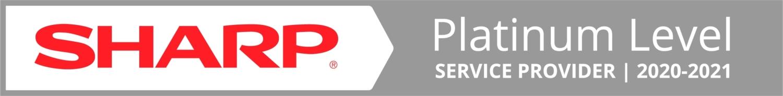 Sharp Platinum Level Service Provider 2020 C3 Tech