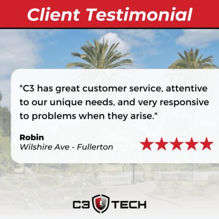 C3 Tech client testimonial Fullerton