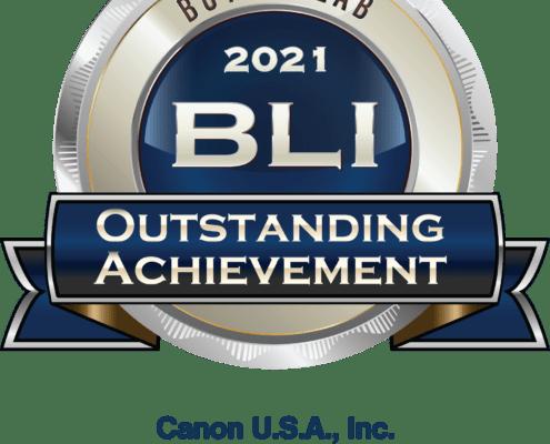 Canon BLI Award 2021Canon Production Printers & Scanners