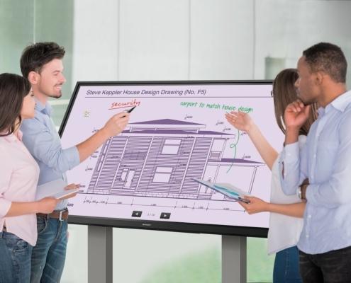 Digital Whiteboards Designed for Enhanced Learning